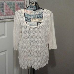 Lucky Brand cotton blouse